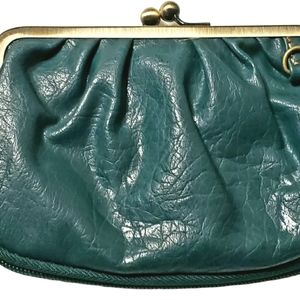 Axcess By Liz Claiborne Women's Green Wallet Pouch